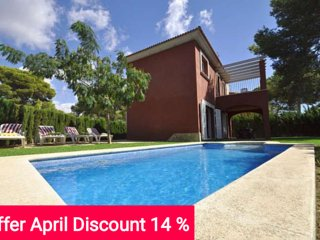 Last Minute 15% April 2017. Modern twinhouse with own pool and garden in Cala - Cala Pi vacation rentals