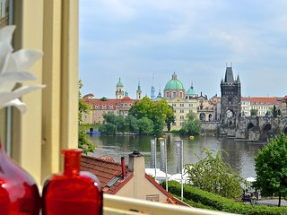 Unique Charm Views Of The Ch-Bridge and Castle 2nd floor-80% occ. 2016 BOOK NOW! - Prague vacation rentals