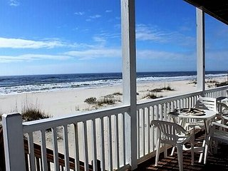 Beachfront house (1st Tier) ... Low Rates!  Summer availability! - Fort Morgan vacation rentals