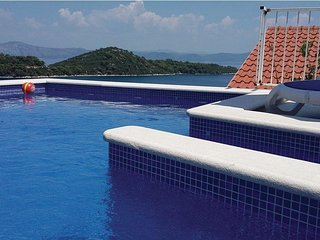 Adriatic - spacious house with seaview pool - Sobra vacation rentals