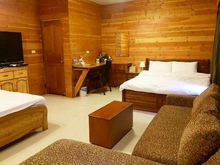 53m large and wooden room  sit  the heart of city! Near MRT, Bus, Train station - Kaohsiung vacation rentals
