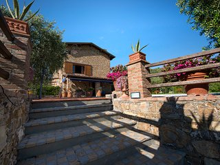 18thcent.stone farmhouse-fantastic pool & overlook - Massarosa vacation rentals