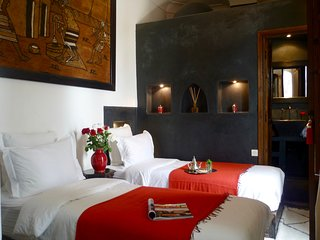 Charming twin room in historic riad - Marrakech vacation rentals