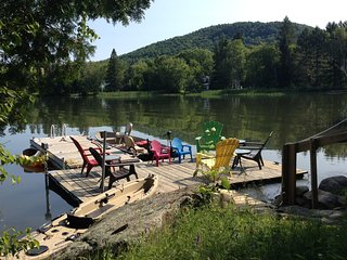 Mont Tremblant Luxury, 4 Season Waterfront Home, Only 2 Wks Left For Summer - Mont Tremblant vacation rentals