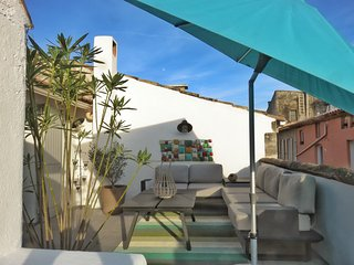 1300sqft village house South rooftop large terrace - Saint-Remy-de-Provence vacation rentals