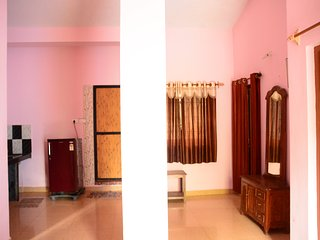 2BHK Apartment Family Vacation rental on Morjim Beach, Goa Kitchen Wifi - Morjim vacation rentals