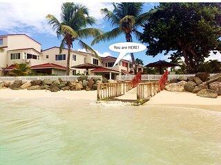 'LITTLE BAY VILLA'  - LARGE 1100sqft APARTMENT WITH SEA VIEWS ON DICKENSON BAY - Saint John's vacation rentals