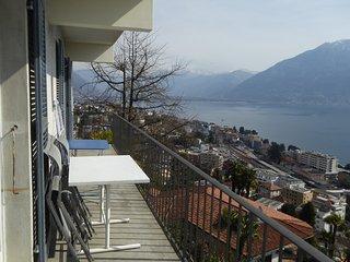 Ferien-Geheimtipp, Wohnung Panorama 1-6 Personen - Muralto vacation rentals