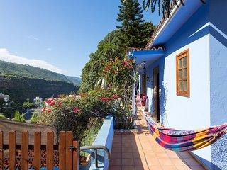 Paradise Corner Blue House & Huge Garden - Icod de los Vinos vacation rentals