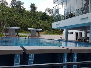 Cozy 3 bedroom Bandar Baru Bangi Condo with A/C - Bandar Baru Bangi vacation rentals