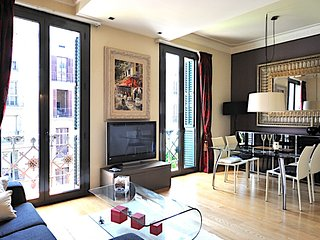 Comfortable 2 bedroom art deco apartment in the city center - B200 - Barcelona vacation rentals
