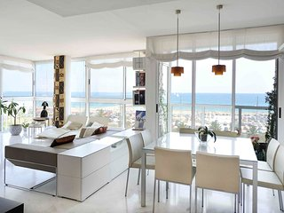 Amazing beachfront Diagonal Mar sunny apartment with sea views - B335 - Barcelona vacation rentals