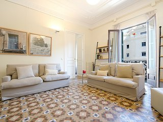 Classic Spanish flat with original mosaic floors and spacious rooms - B361 - Barcelona vacation rentals