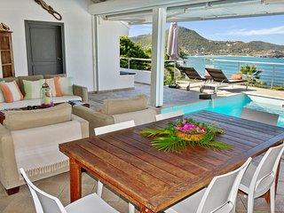 Vaea , villa de location à la semaine offre une vue exceptionnelle sur mer. - Gustavia vacation rentals