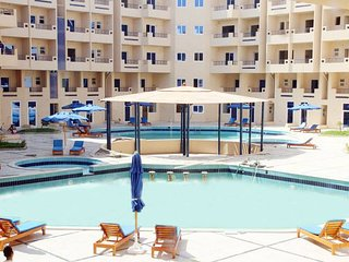 Poolside Studio with Free WIFI and Outside Patio - Hurghada vacation rentals