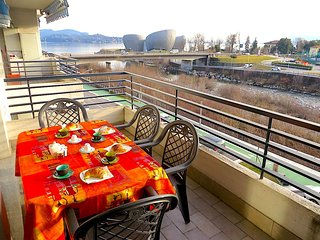 Nice 2 bedroom Intra Apartment with Deck - Intra vacation rentals