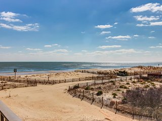 Oceanview home w/private balcony & immediate beach access! - Ocean City vacation rentals