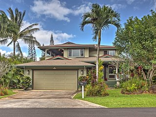 NEW! 4BR Princeville House Minutes to Hanalei Bay! - Princeville vacation rentals