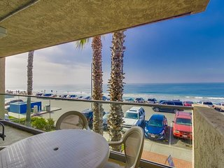Ocean Front Condo #4 1 BR, Sleeps 4: Pet Friendly - Carlsbad vacation rentals