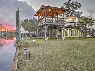 NEW! Bay St Louis House on River w/ Large Deck! - Bay Saint Louis vacation rentals