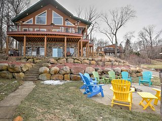 New! Lakefront 4BR Annandale Cabin w/Private Dock! - Annandale vacation rentals