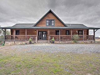 NEW! 3BR Leicester Cabin w/Stunning Nature Views! - Leicester vacation rentals