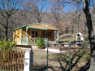 Chalet with 2 rooms in Ghisoni, with pool access, furnished terrace and WiFi - Ghisoni vacation rentals