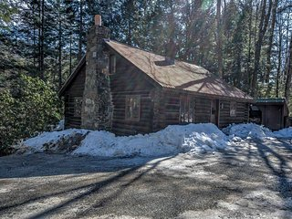 NEW! 3BR Londonderry Log Cabin on 3.5 Acres! - Londonderry vacation rentals