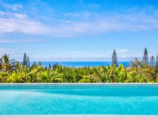 NEW, April/May Special Luxury home, stunning ocean views, pool and huge lanai - Kalaoa vacation rentals