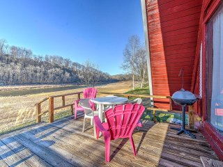 NEW! Cozy 1BR Bluff City Cabin Beside a River! - Bluff City vacation rentals