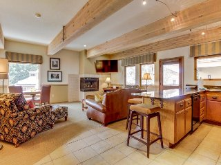 Modern and stylish home with a community hot tub and pool, close to ski lifts! - Ketchum vacation rentals