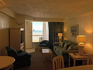Daytona Beach Resort Ocean Front one Bedroom Condo 207 - Ormond Beach vacation rentals