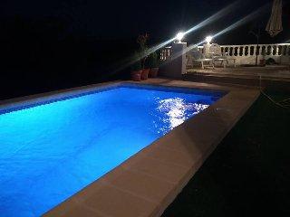 Villa en Oliva La Font en la cima con vistas impresionantes montaña mar  piscina - La font d'en Carros vacation rentals