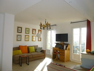 Le Théâtre: beautiful one bed flat, ac, terrace, city view, Garibaldi square - Nice vacation rentals
