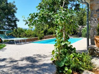 13302 Beautiful stone holiday house with pool - Kapovci vacation rentals