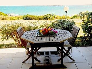 GRAND STUDIO AVEC TERRASSE VUE MER - Saint Martin vacation rentals