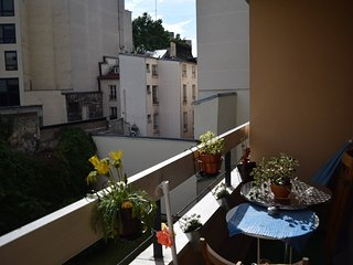 Amazing apartment with balcony - trendy area - 19th Arrondissement Buttes-Chaumont vacation rentals