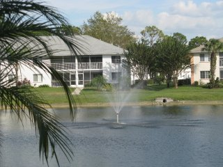 Comfortable Cozy Bright Condo with Lake View and Fountain Feature - Golden Gate vacation rentals