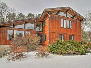 NEW! Secluded 5BR Quechee Home w/ Acreage! - Hartford vacation rentals