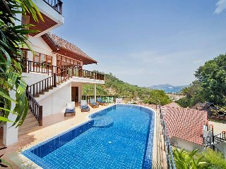 Patong Hill Estate Five | 5 Bed Pool Villa with Ocean View Patong Phuket - Karon Beach vacation rentals