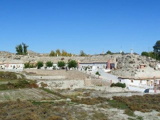 Cave houses, (100m2) two bedroom  private terrace and swimming pool (from juni) - Castillejar vacation rentals