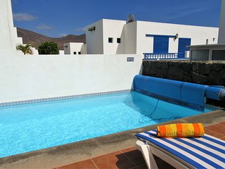 Villa Palmas, Playa Blanca, 3 bedrooms, private pool, sea views - Playa Blanca vacation rentals
