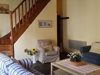 Bright Barn with Central Heating and Washing Machine - Leran vacation rentals