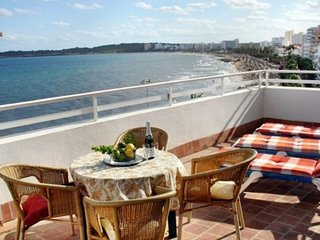 Roof terrace apartment overlooking the sea  3 bed - Cala Millor vacation rentals