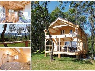 Puy Montaly, maison chalet, calme sans voisin, en pleine nature, étang pêche - Charensat vacation rentals