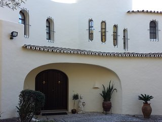 Luxury Villa in beautiful garden setting  with pool and distant sea views - Almancil vacation rentals