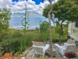 ST KITTS Charming Caribbean Cottage with Amazing Ocean Views - Turtle Beach vacation rentals