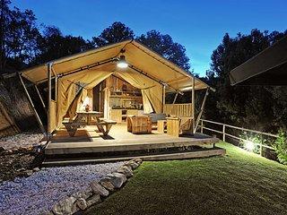 Luxury six-person safari tent lodges Da Vista at Casa Fontelheira - Cabeceiras de Basto vacation rentals