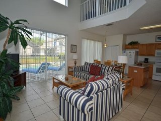 6 Bedroom Pool Home With Spa in Golf Community. 3106SKC - Orlando vacation rentals