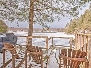 NEW! Tranquil 3BR Long Eddy Cabin on the Lake! - Long Eddy vacation rentals